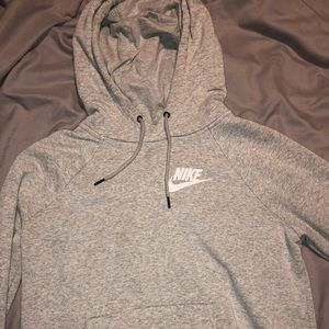 Gray nike hoodie!